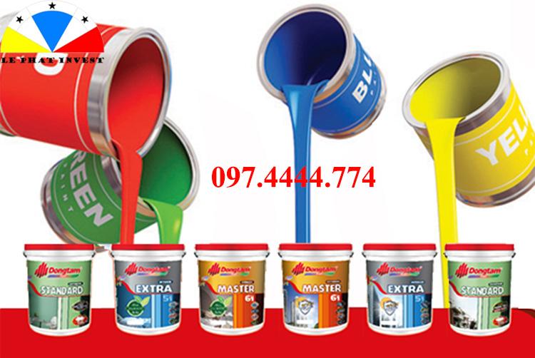 giá thi công sơn nước