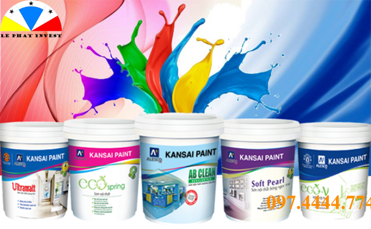 sơn nước cao cấp nội ngoại thất