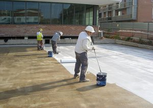 sơn chống thấm sàn mái epoxy