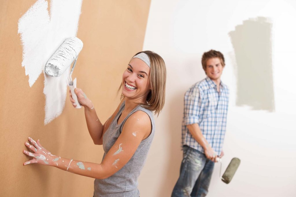 sau bao lâu phải sơn lại nhà