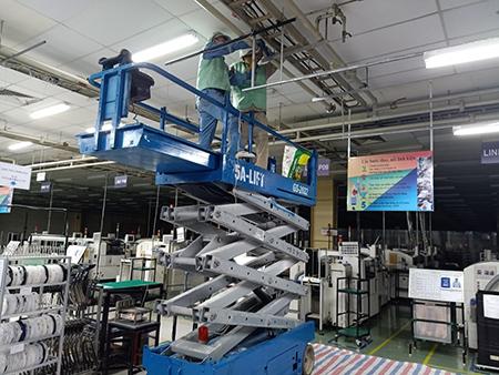 Đơn vị bảo trì nhà xưởng tại Bắc Ninh uy tín
