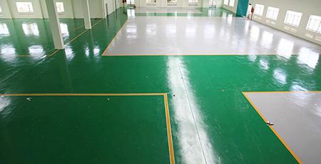 quy trình sơn sàn