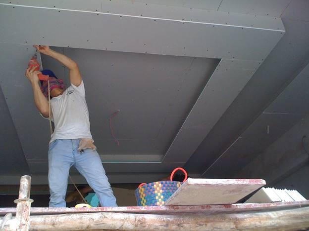 sơn, sửa trần thạch cao